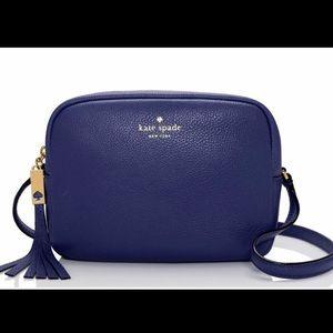 Kate spade navy crossbody purse